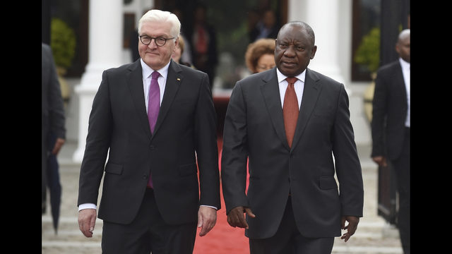 South African President Praises German Investment Fox13