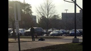 Hospital gunman fired at least 30 times before killing self