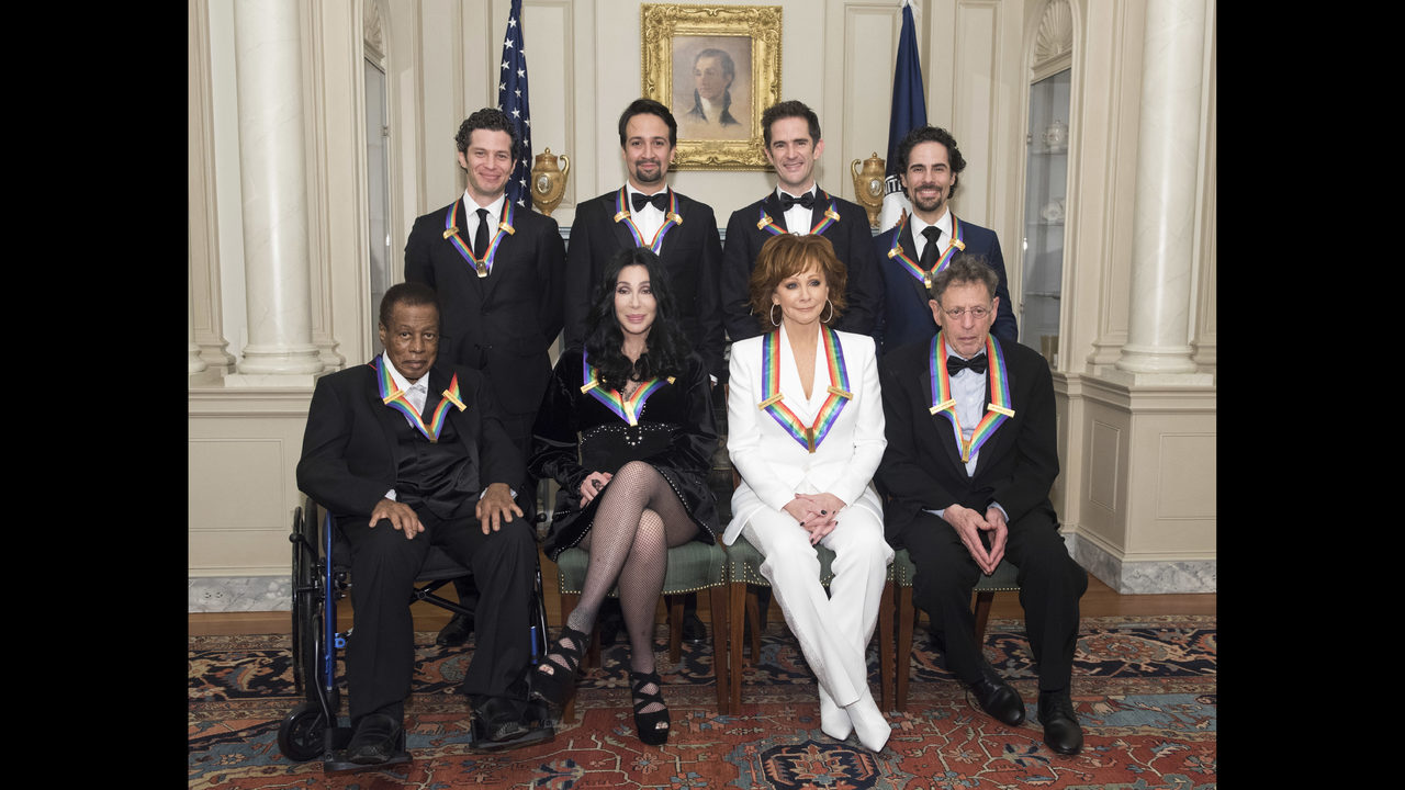 Celebrities Guests Arrive For Kennedy Center Honors Program