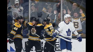 Krejci moves up Bruins