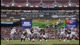 Washington Redskins linebacker Shaun Dion Hamilton (51) runs to sack New York Giants quarterback Eli Manning (10) during the first half of an NFL football game Sunday, Dec. 9, 2018, in Landover, Md. (AP Photo/Mark Tenally)
