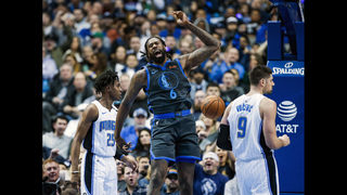 Barnes, Brunson lead Mavericks past Magic 101-76