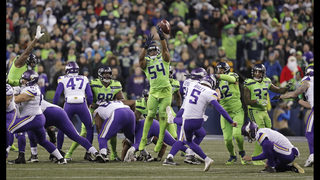 Seahawks on brink of playoffs after 21-7 win over Vikings