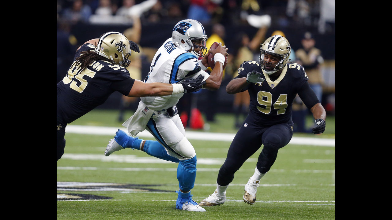cee04d30 WEEK 15 PREVIEW: Saints' sweep of Panthers never far from QB ...