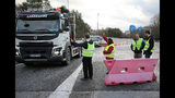 The Latest: Paris police: 21 people detained before protests