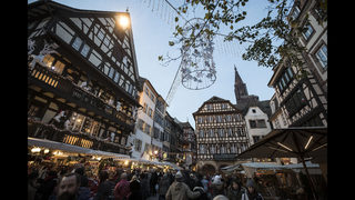 Strasbourg remembers victims of the Christmas market attack