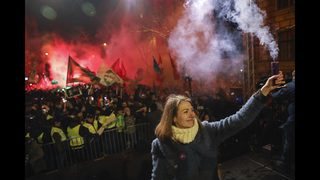 Hungary sees 4th day of protests over overtime, other issues