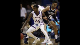 Kansas, Duke, Tennessee stay 1-2-3 in men