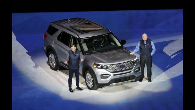 Ford Revamps Explorer Suv For 1st Time Since 2011 Model Year Wsb Tv