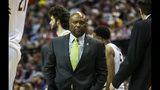 Florida State head coach Leonard Hamilton after calling a time out in the first half of an NCAA college basketball game against Miami in Tallahassee, Fla., Wednesday, Jan. 9, 2019. (AP Photo/Mark Wallheiser)