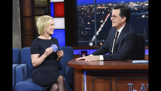 Colbert, Maddow are coveted slots for presidential wanna-bes