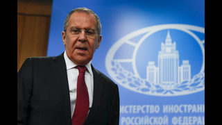 The Latest: Lavrov says swapping American not on horizon