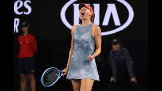 Defending champ gone: Sharapova ousts Wozniacki in Australia
