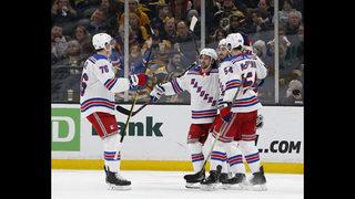 Zibanejad, Lundqvist lead Rangers past Bruins
