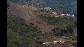 Hard terrain slows rescue of Spanish boy trapped in borehole