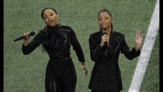 Gladys Knight, Chloe x Halle give thanks after performance