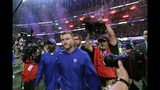 Los Angeles Rams head coach Sean McVay leaves the field after the NFL Super Bowl 53 football game against the New England Patriots, Sunday, Feb. 3, 2019, in Atlanta. The Patriots won 13-3. (AP Photo/David J. Phillip)