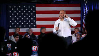 The Latest: Booker sees