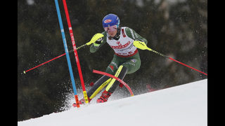 The Latest: Shiffrin not interested in racing against men