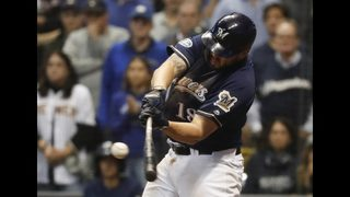 Moustakas has unfinished business in Milwaukee