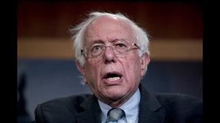 The Latest: Sanders