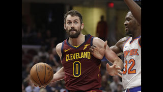 Love healthy, optimistic as Cavs fight to season
