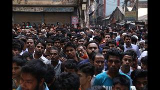 Investigators inspect scene of deadly Bangladesh fire