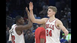 Markannen makes 2 late free throws, Bulls beat Magic 110-109