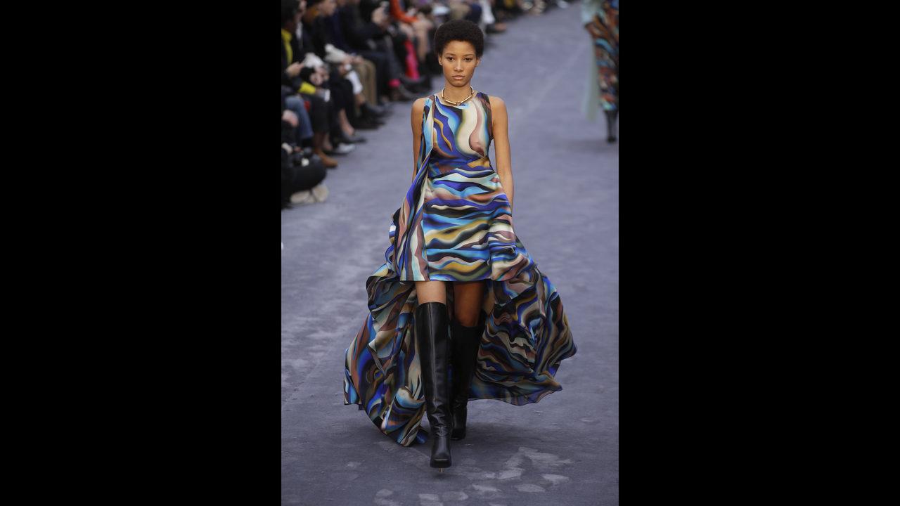 f59950b0f In Milan, Ferragamo, Cavalli focus on color, inclusiveness | WPXI