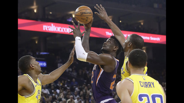 Booker Suns Snap 18 Game Skid To Warriors With 115 111 Win Www