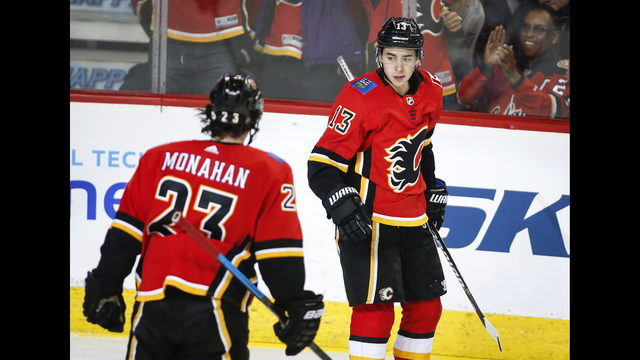 Johnny Gaudreau has 6 points as Flames scorch Devils 9-4  ff74b1f97a0