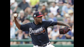 Teheran to make 6th straight opening day start for Braves