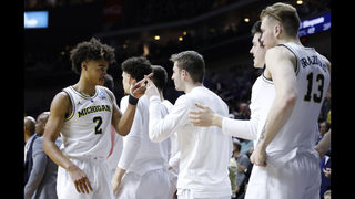 Michigan returning to Sweet 16 after toppling Florida 64-49
