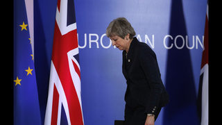 UK leader meets Cabinet as she fights to stay in power
