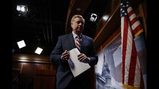 The Latest: Graham says McCain didn