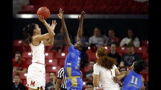 UCLA beats Maryland 85-80 in women