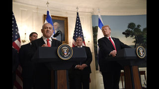 The Latest: Turks say US ignores international law on Golan
