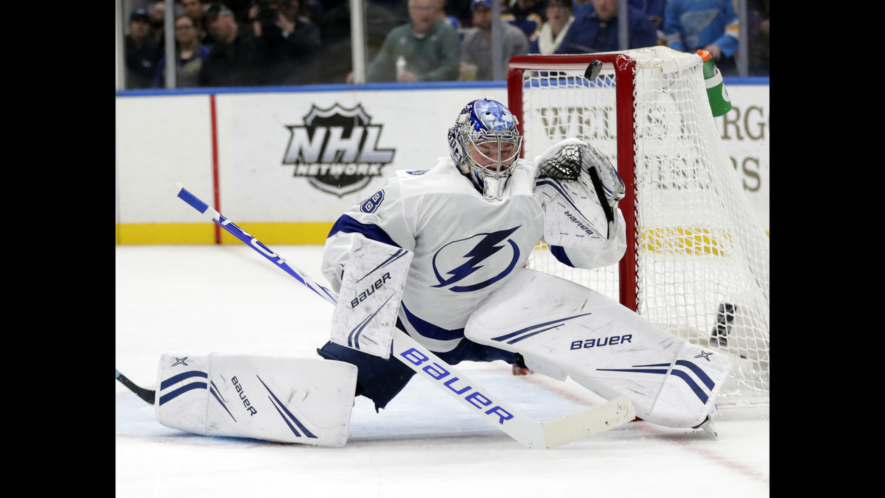 d125baacd9c Kucherov making plenty of points for NHL's MVP consideration | WJAX-TV
