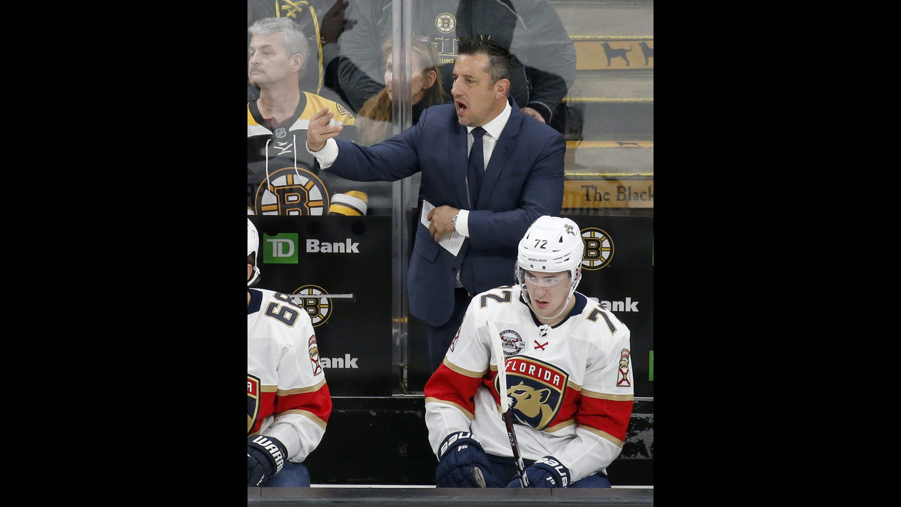 91275eb8 Panthers fire coach Bob Boughner after 2 seasons | WPXI