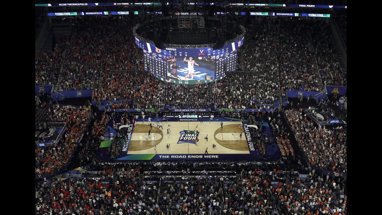 NCAA Latest: Stats show tiny edges for Virginia, Texas Tech | www