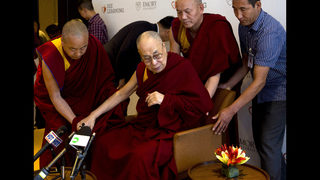 Dalai Lama hospitalized with chest infection, feeling better | www