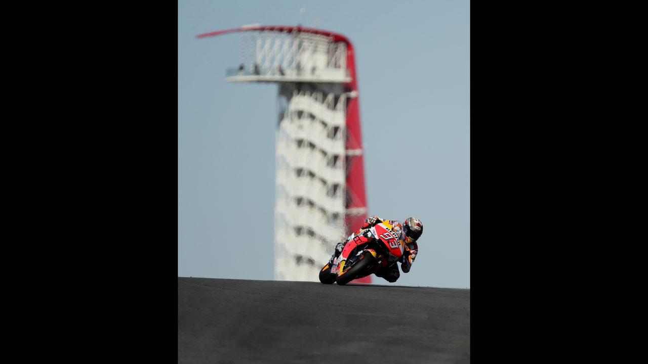 Rins wins MotoGP in Texas after Marquez crash | WSB-TV