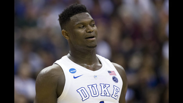 45522441281 Zion Williamson entering NBA draft after 1 year at Duke
