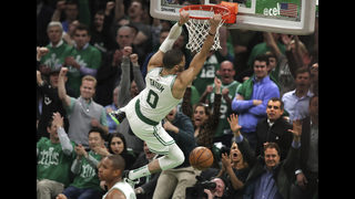 NBA PLAYOFFS: Celtics take 3-0 series lead with win over Pacers in Game 3