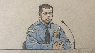 Officer says partner fired before he could analyze threat