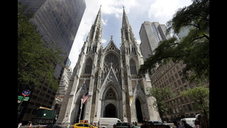 Police: NYC cathedral suspect had booked a flight to Italy