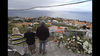 Relatives of German bus crash victims arrive in Madeira