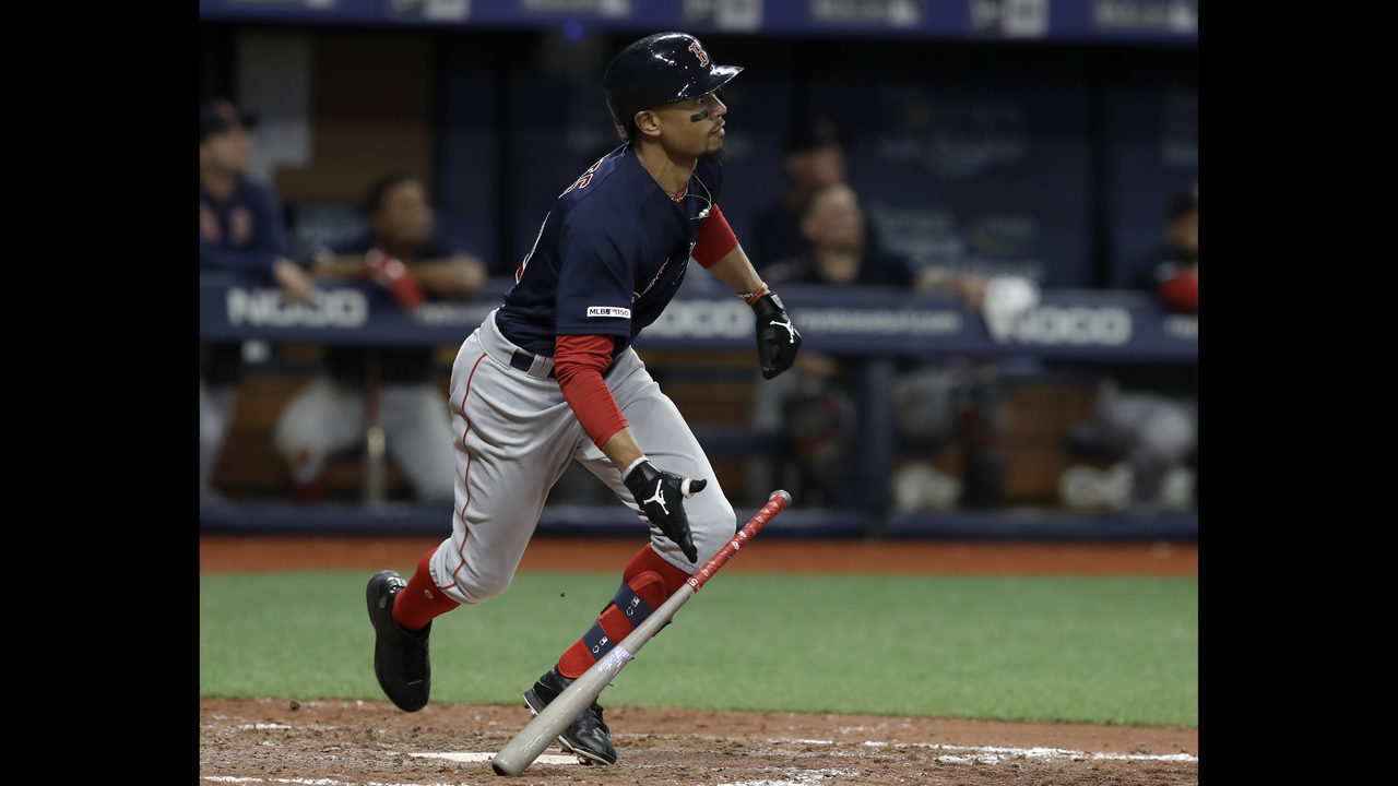 Betts, Moreland homer in 8th, Red Sox beat Rays 6-4 | WFTV