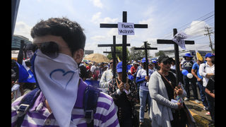 Nicaraguans use Good Friday processions to protest