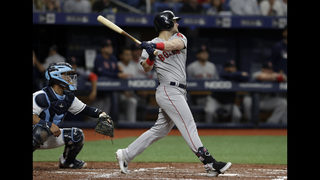 Red Sox get 1st series win, beat Rays 6-5 behind Benintendi